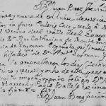 1744 Marriage of Joaquin Cavazos and Antonia Margarita Guzman