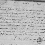 1789 Death Record of Jose Marcelino Trevino