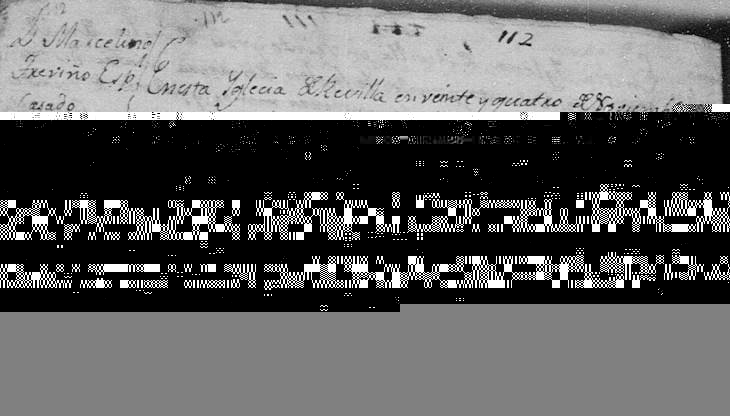 1789 Death Record of Jose Marcelino Trevino