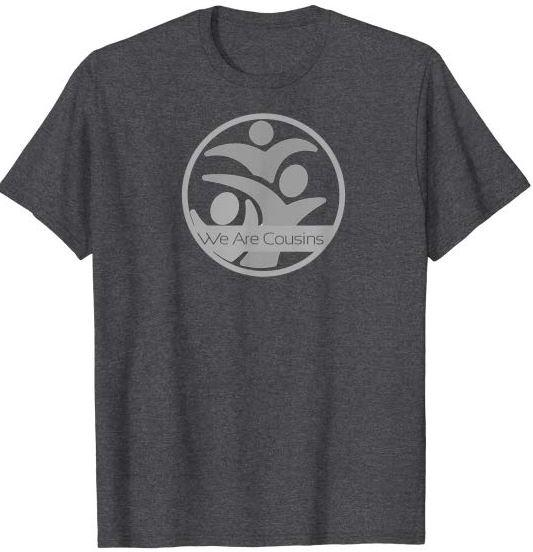 We Are Cousins Logo Circle Grey