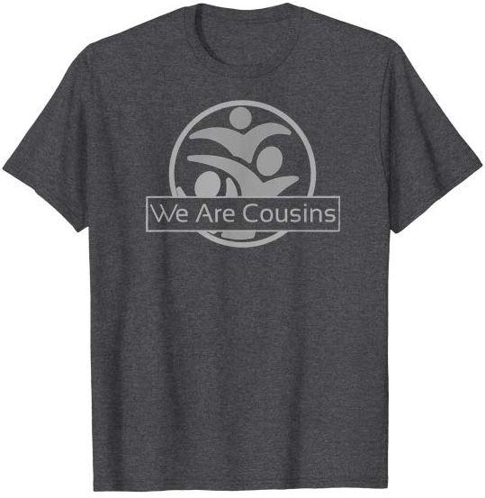 We Are Cousins Logo Grey