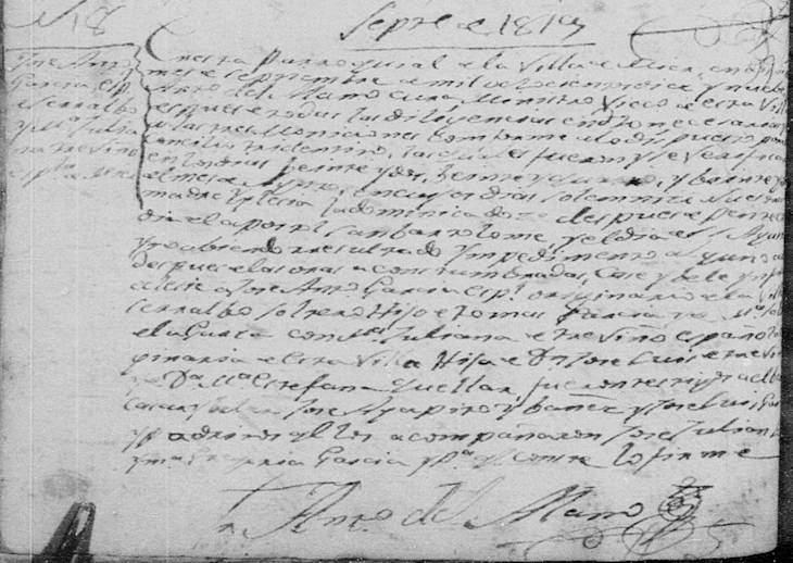 Marriage of Jose Antonio Garcia and Maria Juliana Trevino