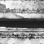 1800 Baptism Record of Maria Celedonia Hinojosa