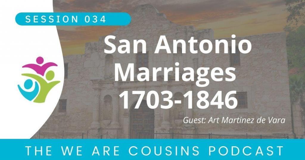 San Antonio Marriages 1703-1846